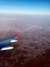Approaching Erbil, Capital of the Kurdistan Region in Northern Iraq